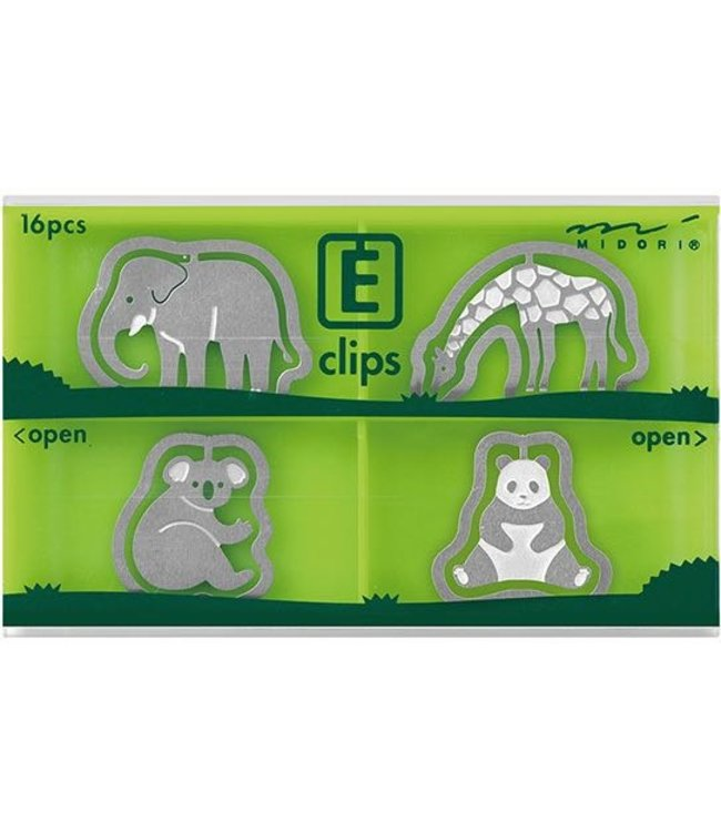 Midori Japan E-clips - Dieren