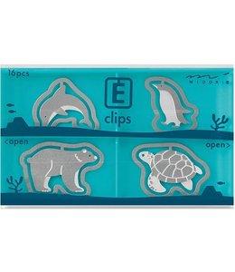 Midori Japan E-clips - Zeedieren