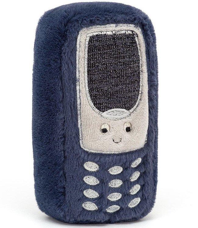 Jellycat Wiggedy knuffeltelefoon met geluid - 15cm