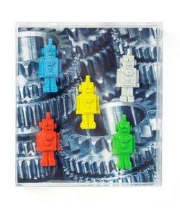 Trendform Magneten set van 5 - Robot