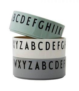 Design Letters Set van 3 kommen