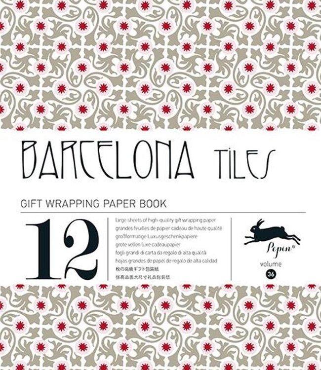 Inpakpapier - Barcelona tiles