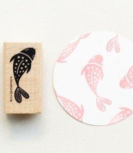 Perlenfischer Stempel Koi