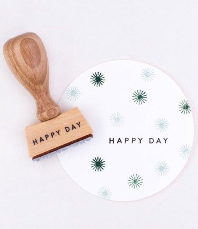 Perlenfischer Stempel Happy Day