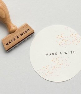 Perlenfischer Stempel Make a Wish