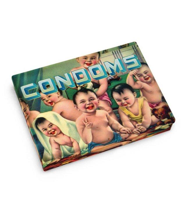 Blue Q Pocket box - Condoms