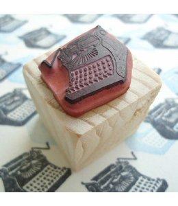 De Krantenkapper Typemachine