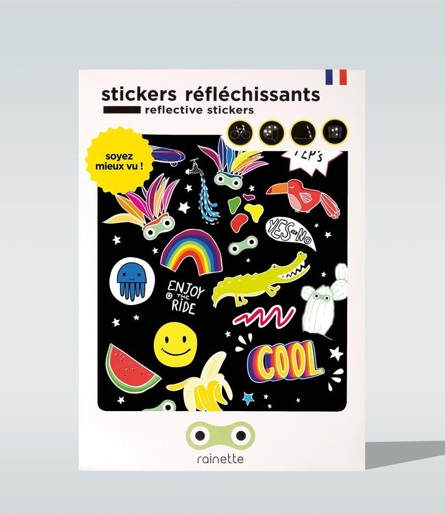 Rainette Reflecterende stickers - Cool