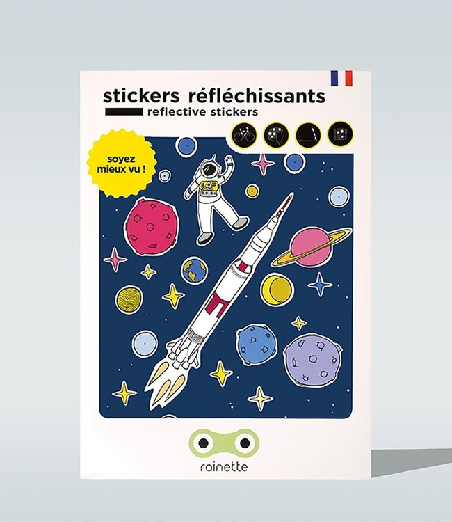 Rainette Reflecterende stickers - Space