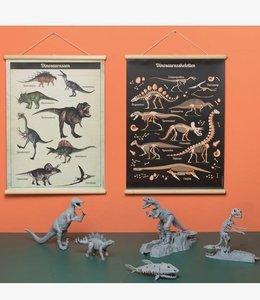 Little & Pure Schoolplaat Dinosaurussen