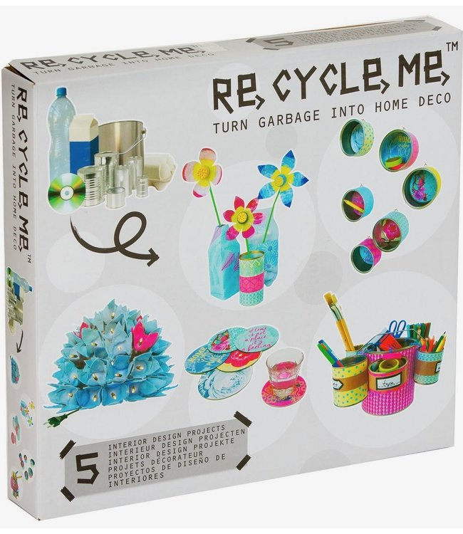 Re-Cycle-Me Huisdecoraties knutselen