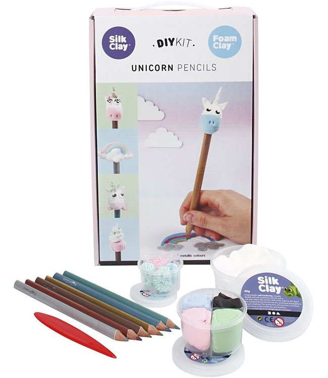 Unicorn potloden DIY set