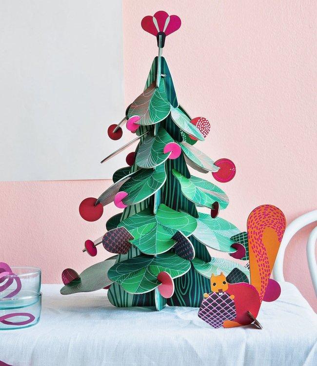 Studio ROOF Bouwpakket - Kerstboom groot
