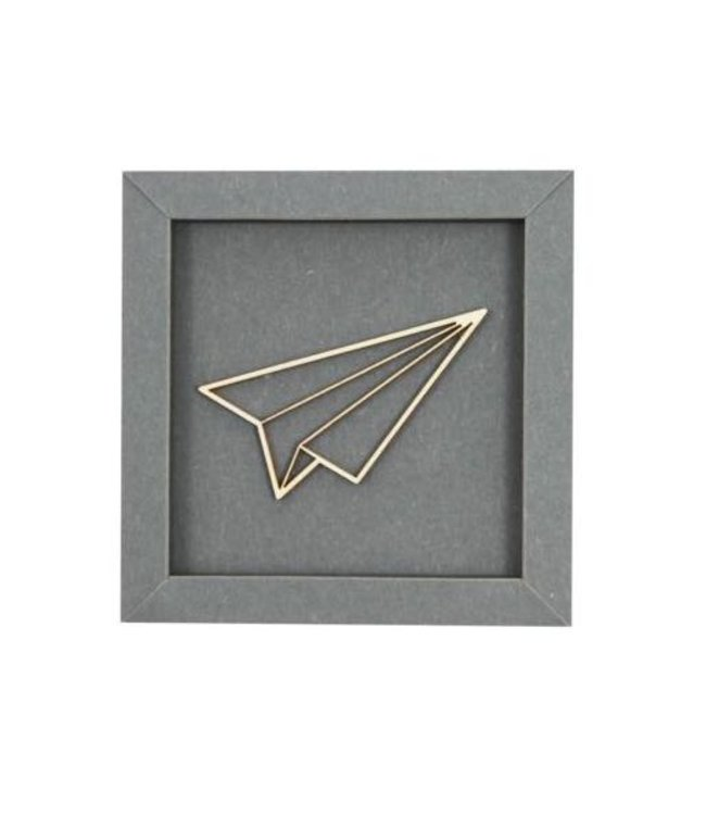 Werkpunk Vlieger - filigraan hout