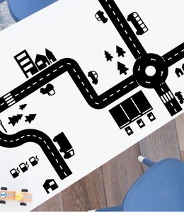 Studio Jong Speelstickers - Sticky Roads zwart