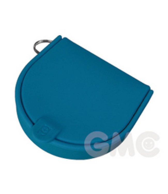 Silicone beurs - blauw