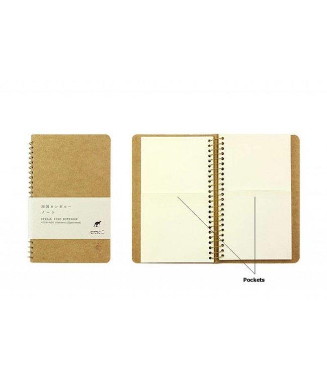 Midori Japan Notitieboek kangoeroe - klein (A6)