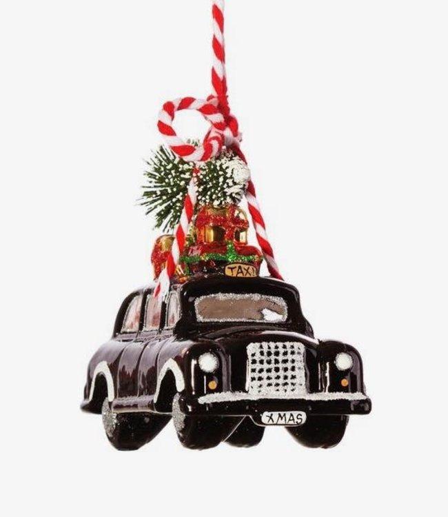 Sass & Belle Kerstboomhanger - Black Cab
