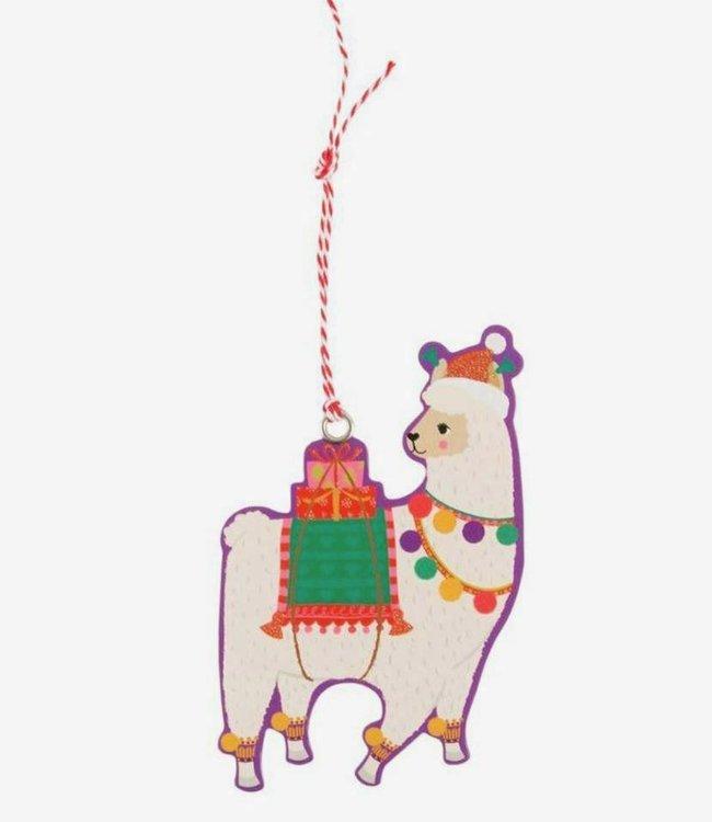 Sass & Belle 6 Gifttags - Lama