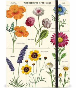 Cavallini & Co Gelijnd A5 notitieboek - Wildflowers