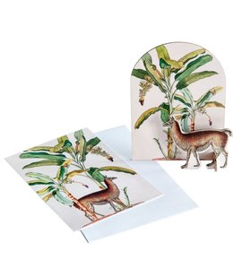 Studio ROOF Pop out kaart - Tropische Lama