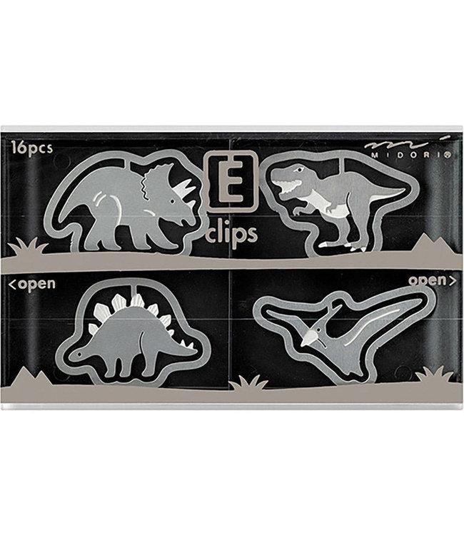 Midori Japan E-clips - Dino's