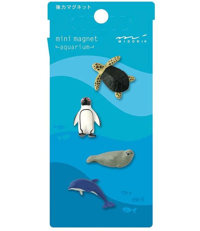 Midori Japan Magneetset - Zeedieren
