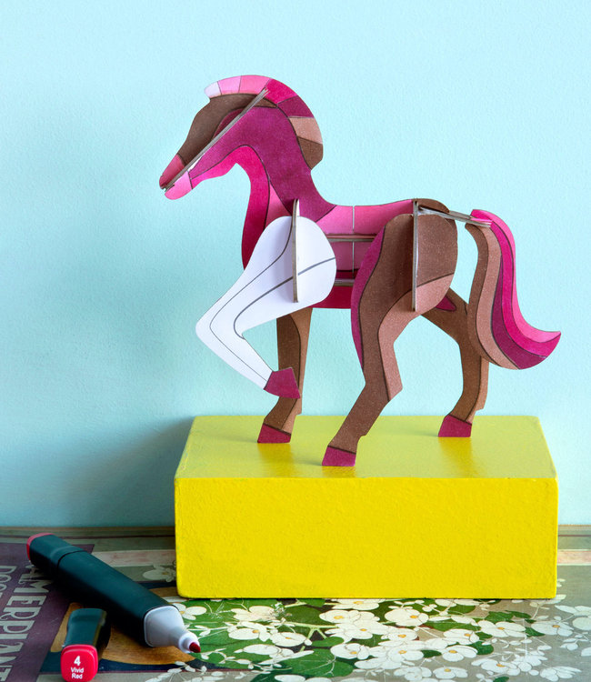 Studio ROOF DIY 3D Paard