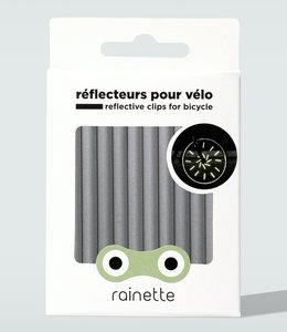 Rainette Spaakreflectoren - Zilver