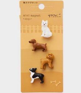 Midori Japan Magneetset - Hond