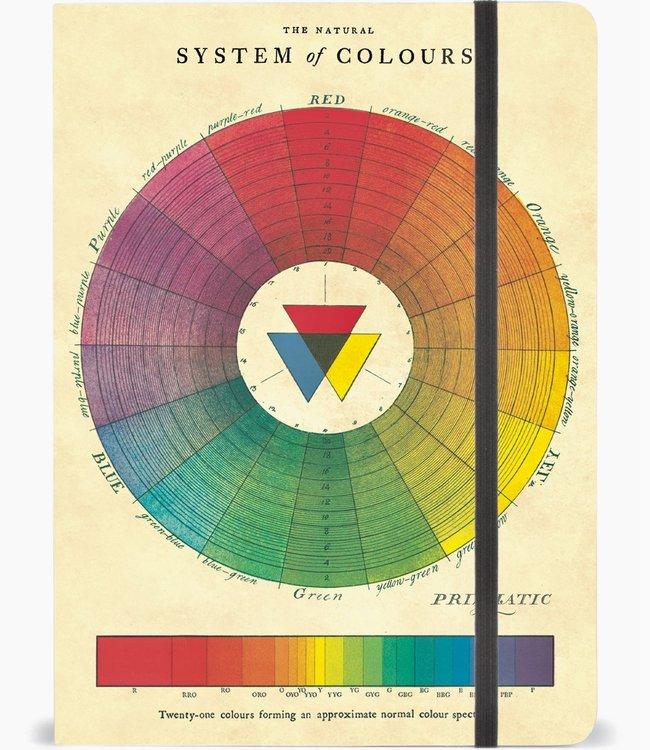 Cavallini & Co Gelijnd A5 notitieboek - Kleuren