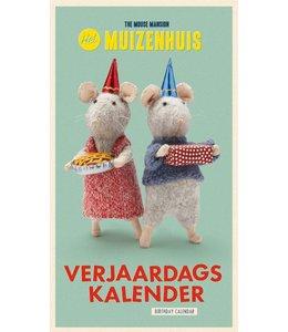 Het Muizenhuis Verjaardagskalender