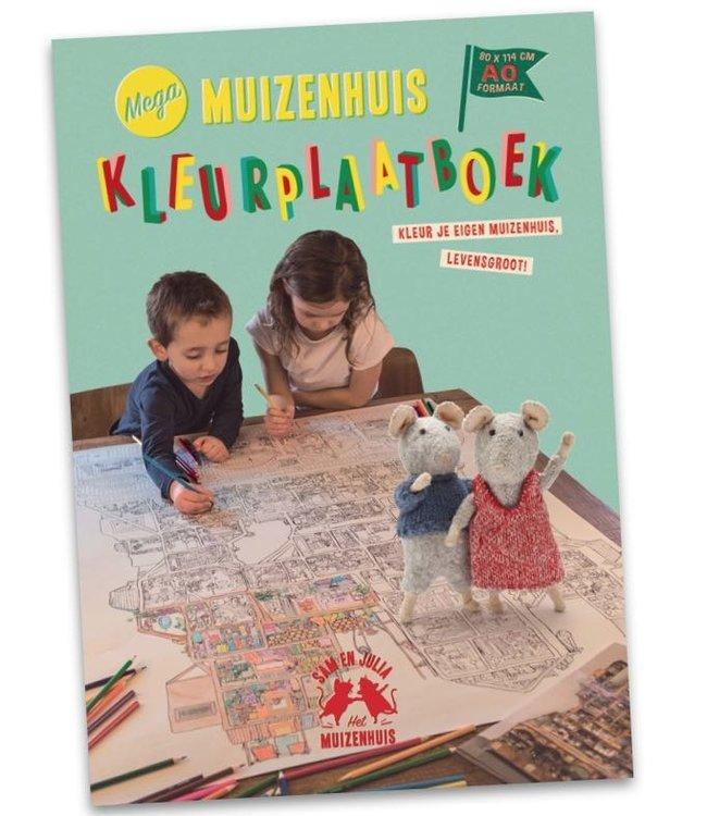 Het Muizenhuis Mega XL Kleurplaat