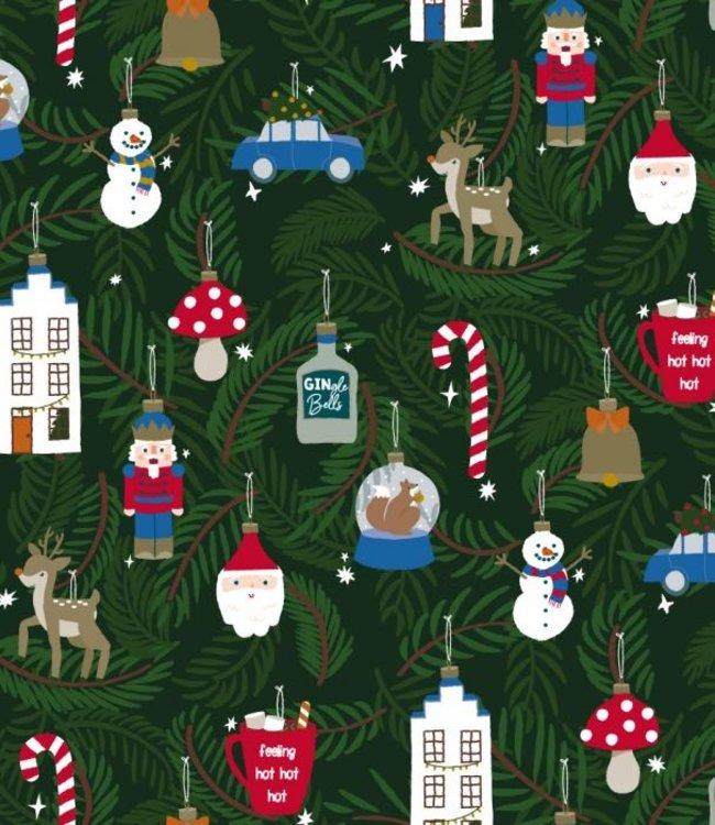 HOP Cadeaupapier - Kerst