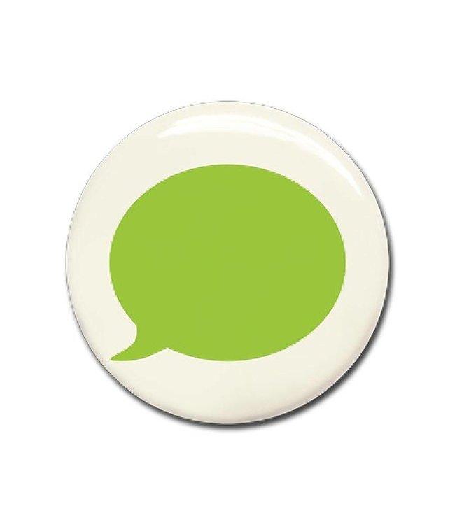Wonderwall Magneet groene tekstballon