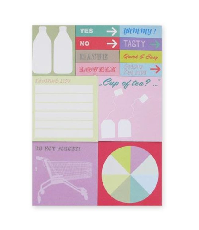Rico Design 480 Sticky notes - yummy shopping list