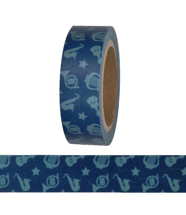 StudioZomooi Instrumenten tape - blauw