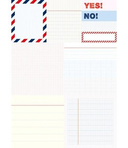 Rico Design 480 Sticky notes - yes no