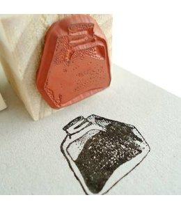 De Krantenkapper Inktpot