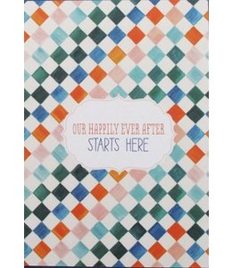Mino Paper Sweets Postkaart - Happily ever after