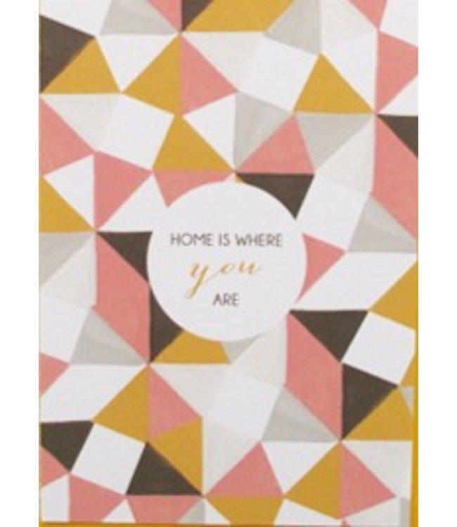 Mino Paper Sweets Postkaart - Home