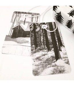 Jurianne Matter 6 Cadeau labels - Winterwandeling
