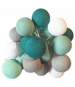 Cotton Ball Lights Cotton Balls lichtslinger Mint