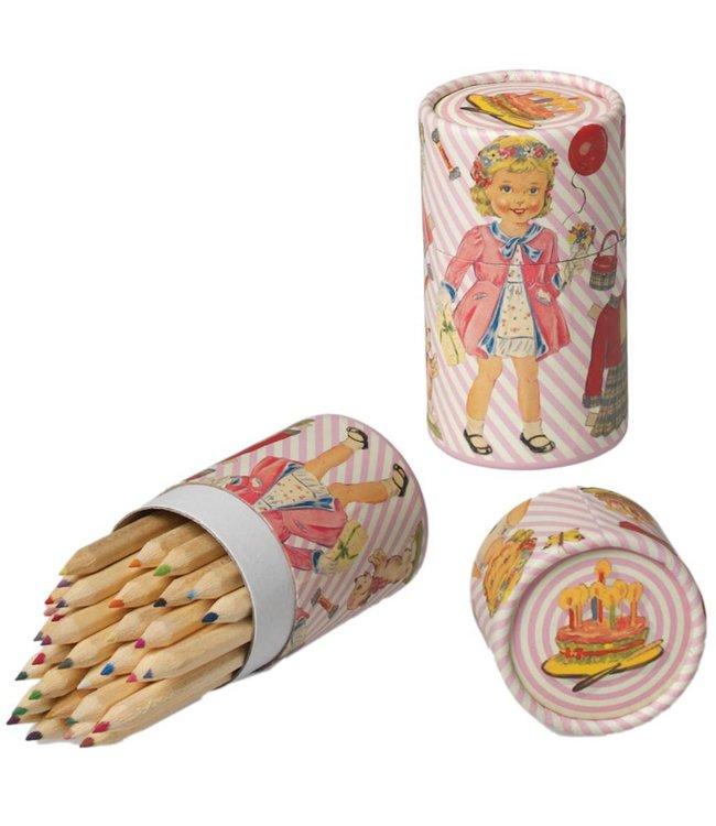 Dotcomgiftshop Koker met 36 potloden