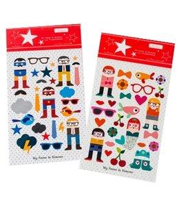 Stickers 2 x A4