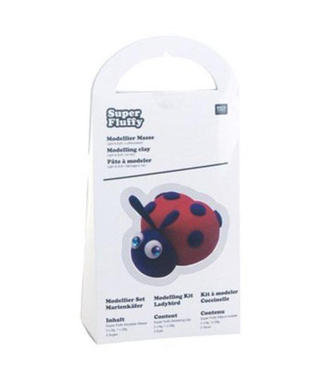 Rico Design Soft klei lieveheersbeestje