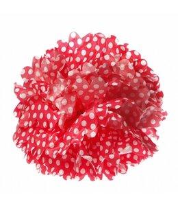 Sass & Belle Pompom 33cm - rood/stip