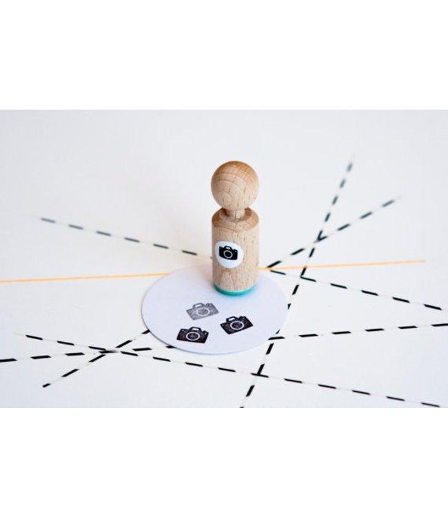 Miss Honeybird Mini stempel - foto