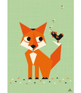 Miss Honeybird Poster - Vos - 60x42 cm