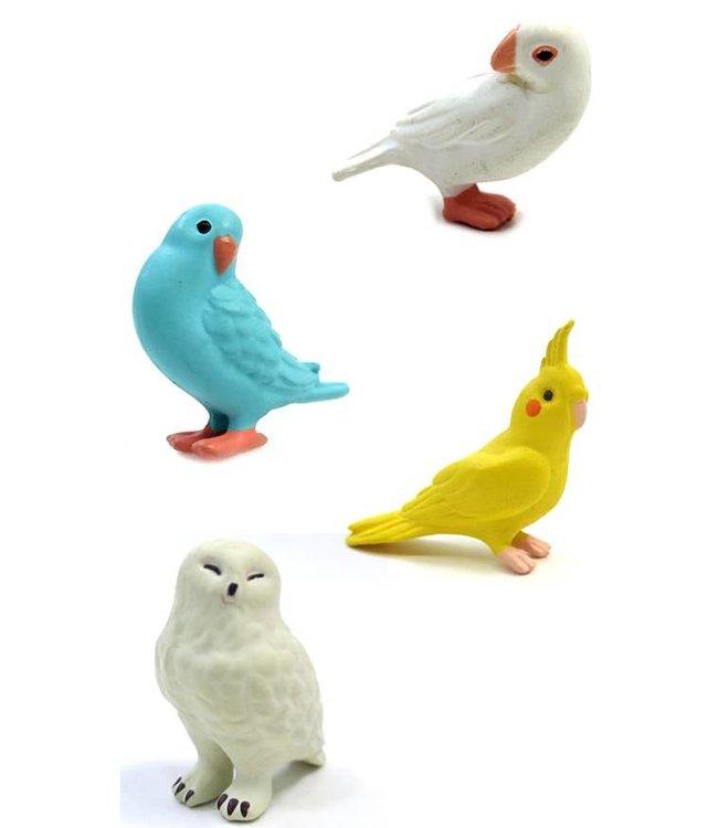 Midori Japan Magneet set - vogel
